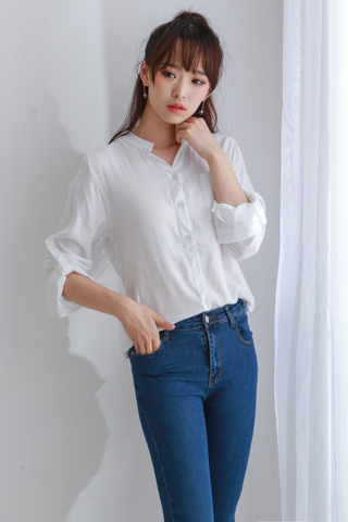 Pocket Stripe Blouse
