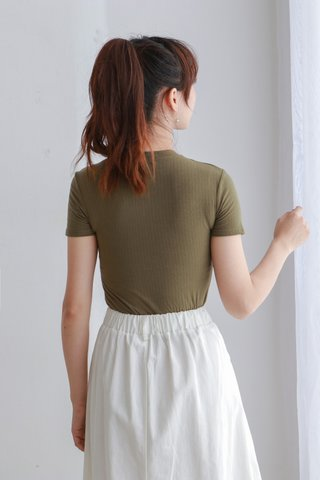 Knit Basic Crop Top