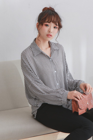 Small Gingham Oversize