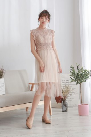 Reysta Crochet Lace Dress