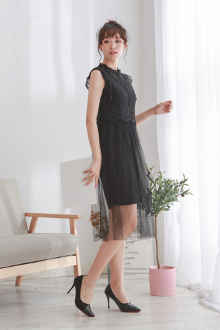 Reysta Crochet Lace Dress