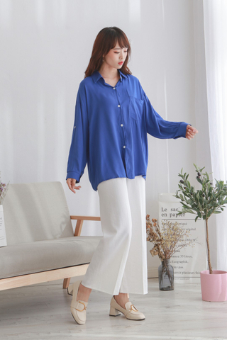 Casual Botton Blouse
