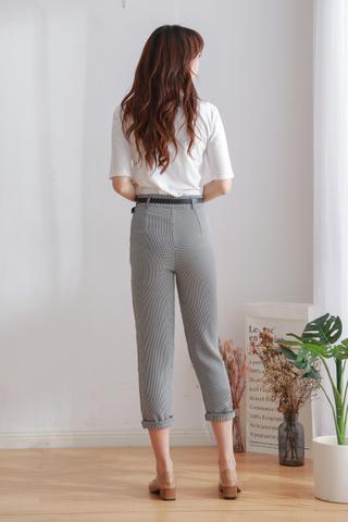 Chidori Hight Waist Straight Pants