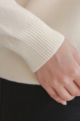Hoodie Knit Cardigan
