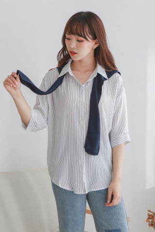 detachable Collar Blouse