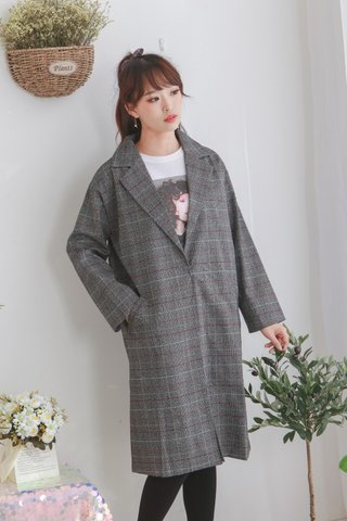Glen Plaid Vector Tweed Blazer