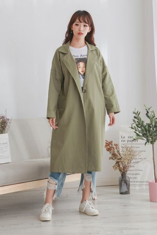Notch Lapels Trench Coat