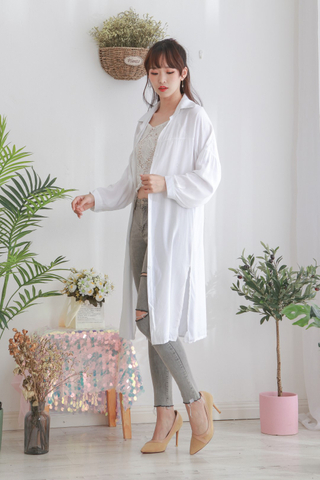 Cotton Hem Splits Outer