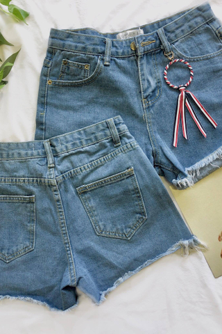 Denim Jeans With Rings