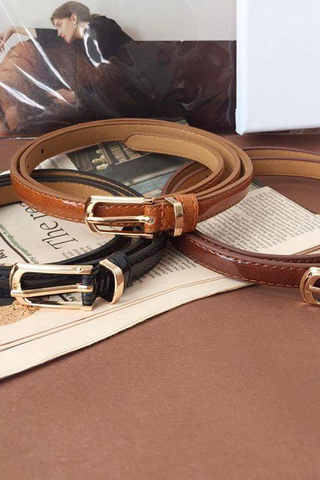 Simple Thin Belt