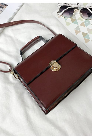 Maroon Simple Sling Bag