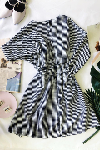Gingham Checkered Dress