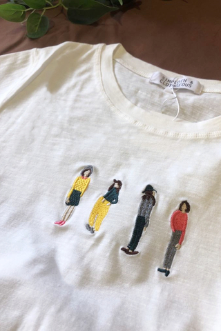 Four girls T-shirt