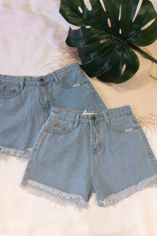 Denim Hot Short