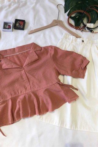 Collar Ruffled shirt