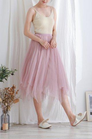 Vintage Mesh Skirt