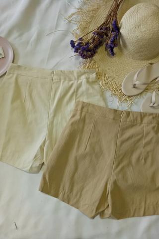 Front Tie Ribbon Shorts