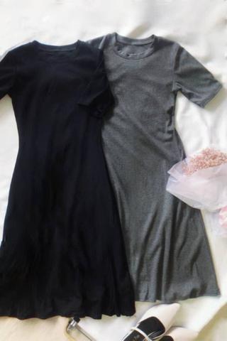 Casual Flare Midi Dress
