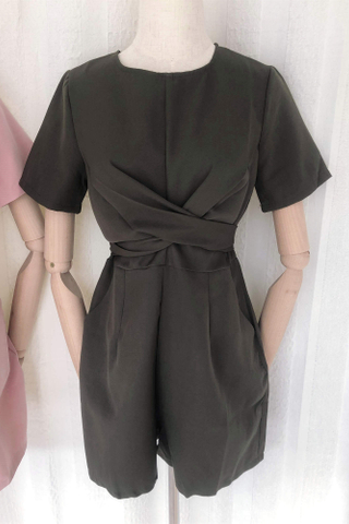Cross Tie Playsuit